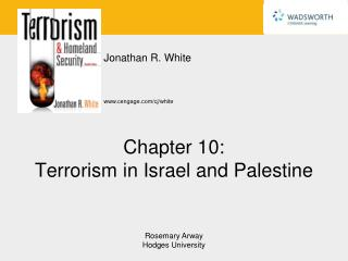Chapter 10: Terrorism in Israel and Palestine