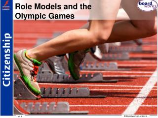 Role Models and the  Olympic Games
