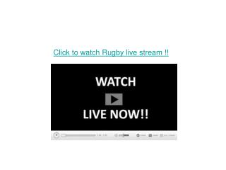 Glasgow vs Ulster Live Rugby online TV Streaming with HD .