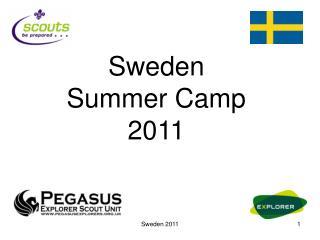 Sweden Summer Camp 2011