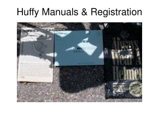 Huffy Manuals  Registration