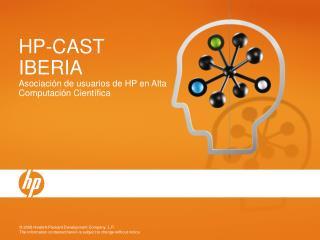 HP-CAST IBERIA Asociaci n de usuarios de HP en Alta Computaci n Cient fica
