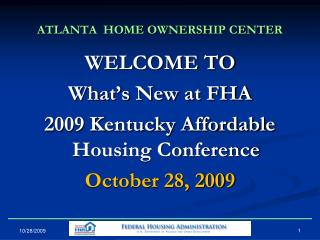 ATLANTA  HOME OWNERSHIP CENTER