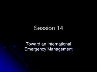 Session 14