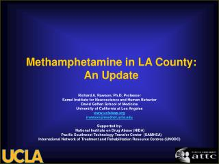Methamphetamine in LA County: An Update