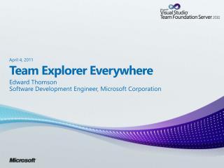 Team Explorer Everywhere