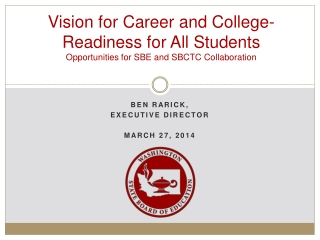 College Readiness for All: