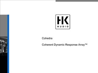 Cohedra   Coherent Dynamic Response Array