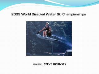 2009 World Disabled Water Ski Championships