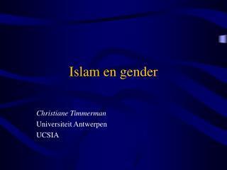 Islam en gender