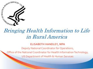 Bringing Health Information to Life in Rural America