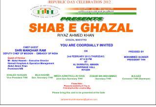 REPUBLIC DAY CELEBRATION 2012