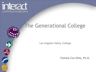 The Generational College   Los Angeles Valley College    Pamela Cox-Otto, Ph.D.