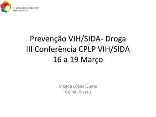 Preven  o VIH