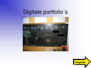 Digitale portfolio s