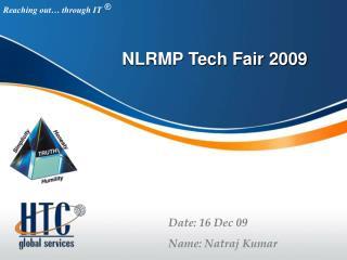 NLRMP Tech Fair 2009
