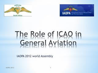 The Role of ICAO in General Aviation
