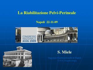 La Riabilitazione Pelvi-Perineale    Napoli  22-11-09