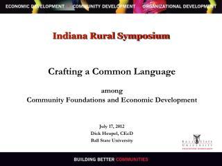 Indiana Rural Symposium