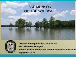 LAKE MUNSON 2010 DRAWDOWN
