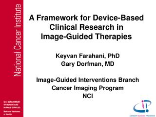 A Framework for Device-Based Clinical Research in  Image-Guided Therapies