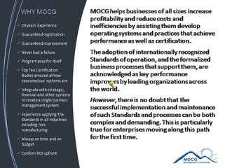 Why MOCG