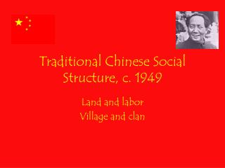 Traditional Chinese Social Structure