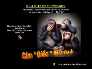 Presentation Ch a Nht 23: M  C m  ic
