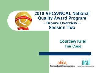 2010 AHCA