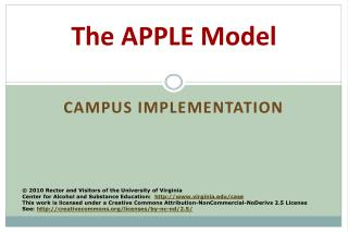 The APPLE Model