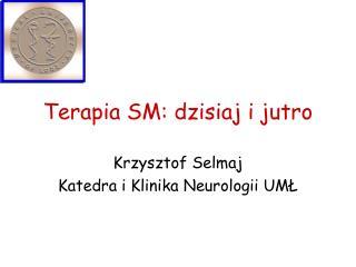 Terapia SM: dzisiaj i jutro