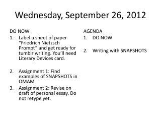 Wednesday, September 26, 2012