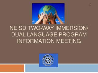 NEISD Two-Way Immersion