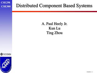 Distributed Component Based Systems