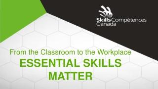 Essential Skill 1-2: