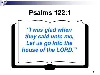Psalms 122:1
