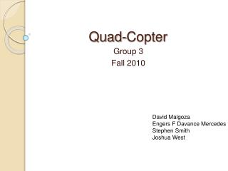 Quad-Copter