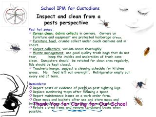 School IPM for Custodians