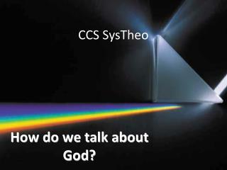 CCS SysTheo