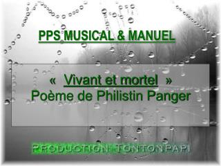 PPS MUSICAL  MANUEL
