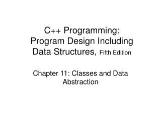 C Programming:  Program Design Including Data Structures, Fifth Edition