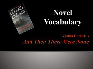 Agatha Christie s And Then There Were None