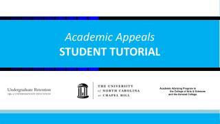 Academic Appeals STUDENT TUTORIAL