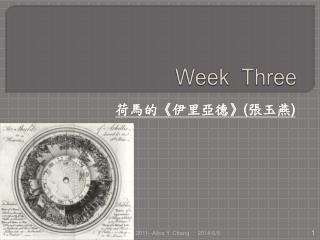 Week  Three