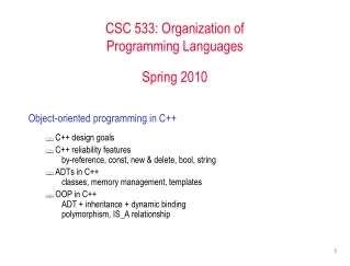 What s New in C 4 and Visual Basic 2010