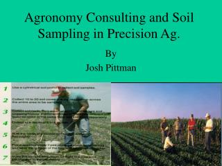 Agronomy Consulting and Soil Sampling in Precision Ag.