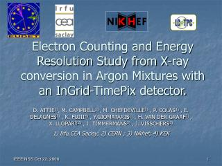 Electron Counting and Energy Resolution Study from X-ray conversion in Argon Mixtures with an InGrid-TimePix detector.
