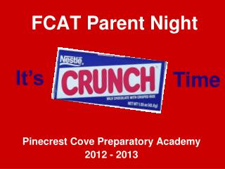 FCAT Parent Night