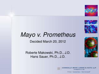 Mayo v. Prometheus  Decided March 20, 2012