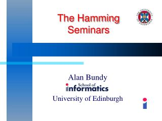 The Hamming  Seminars